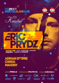 Eric Prydz, Pryda, Kristal Glam Club, poster design by Alex Tass