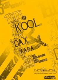 Nagual, Kool, Dax, Mara, poster design by Alex Tass