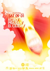 Kozo, Praslea, El Cezere, poster design by Alex Tass
