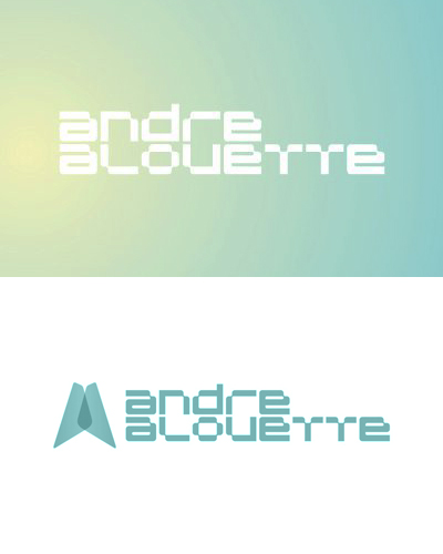 Andre Alouette, electronic music dj and producer logo design