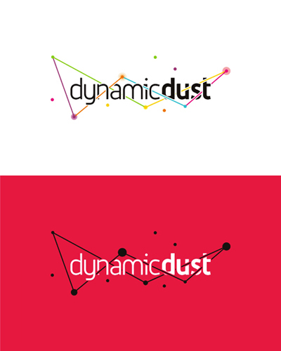 dynamic dust games app design development logo design by alex tass