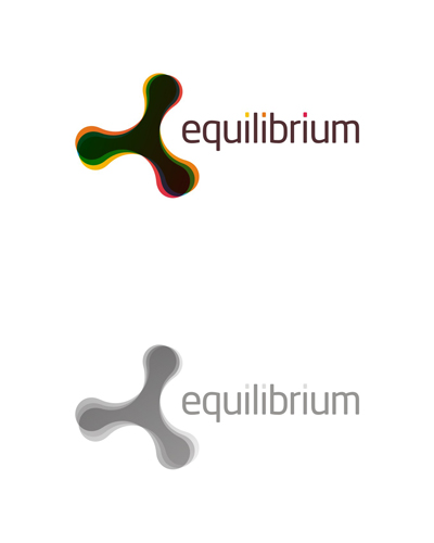 equilibrium, experimental design work, logo design for sale