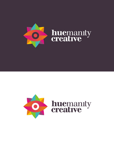 huemanity creative design studio logo design by alex tass