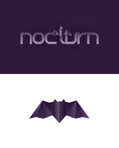 nocturn, freelance design studio, graphic design, logo design