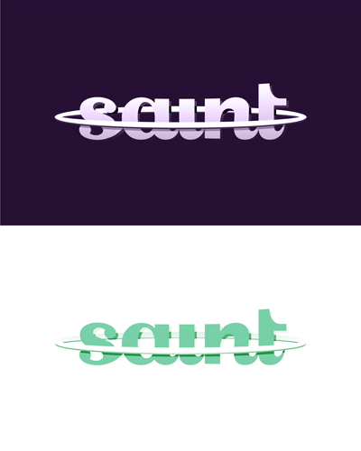 dj saint, electronic music dj and producer logo design for sale