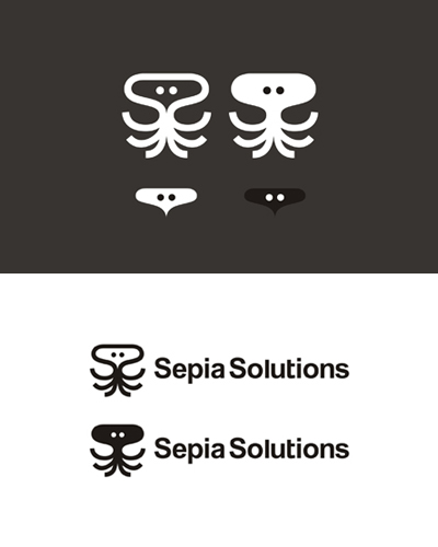 sepia solution vod video on demand logo design by alex tass