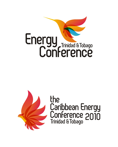 International energy and alternative energy conference logo design