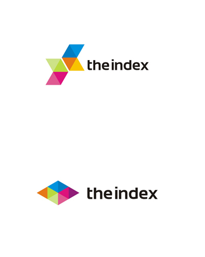 the index web, mobile, apps developer logo design by alex tass