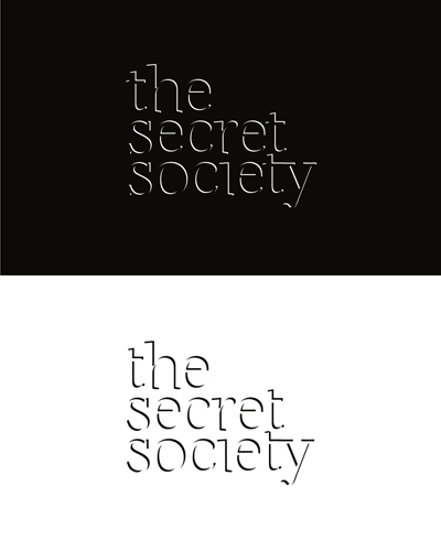 the secret society, secret, society, experimental concept, logo design for sale