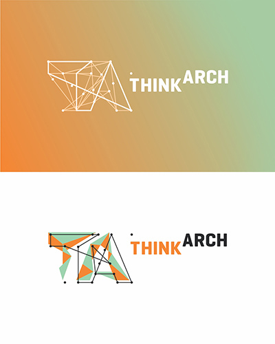 Think Arch, international architecture competition, architecture, urbanism, landscape, garden architecture, logo design by Alex Tass