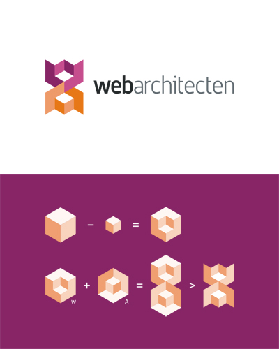web architecten, web design studio logo design