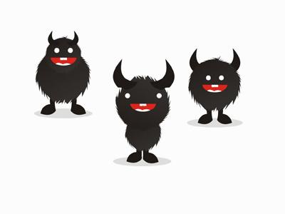 Beasts monsters characters mascots symbols logo design symbol icon