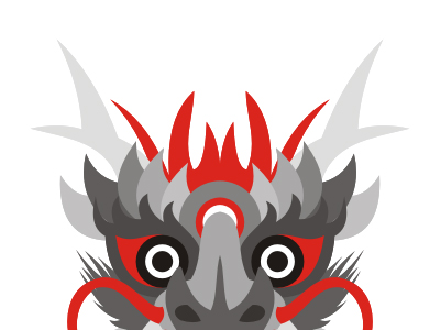 Dragon logo design symbol mark icon