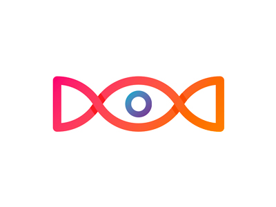 Eye candy logo design symbol icon