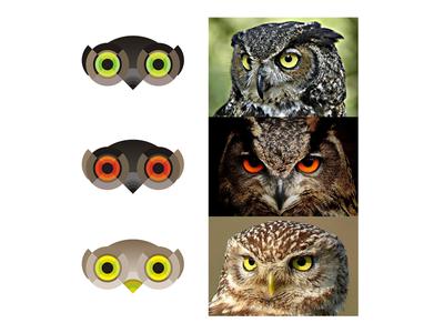 Owls logo design symbol exploration illustrations