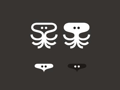 Sepia solution logo design symbol