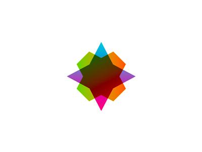Star colorful logo design symbol icon