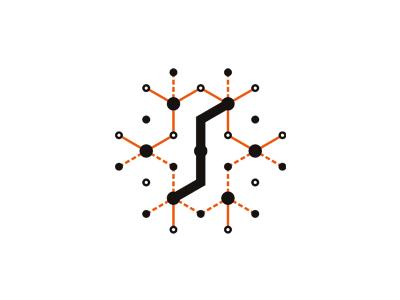 Synapse web saas api ipaas logo design symbol icon