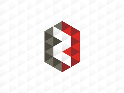 Zero park geometric pattern logo design symbol icon
