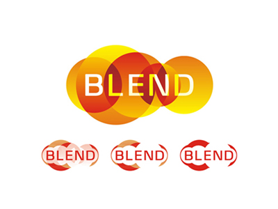 Blend consulting company logo design