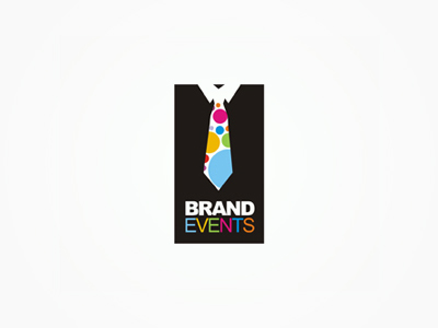 Brand Events corporate parties logo design