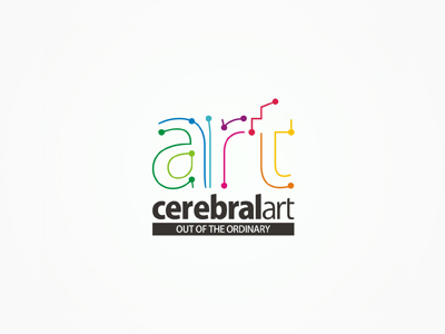 cerebralart advertising agency logo design by alex tass