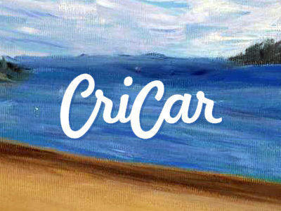 Cricar, Carmen Cristea plastic artist paintings logo design