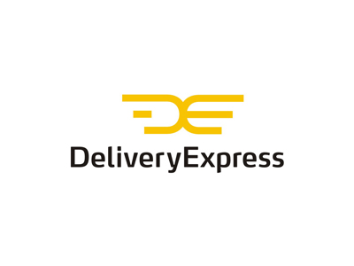 Delivery Express wings logo design