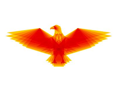 Eagle symbol icon logo design