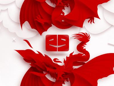 ego-alterego.com art design blog logo design dragons symbol illustration icon