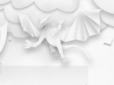 ego-alterego.com ice paper dragon illustration design