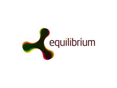 Equilibrium experimental logo design