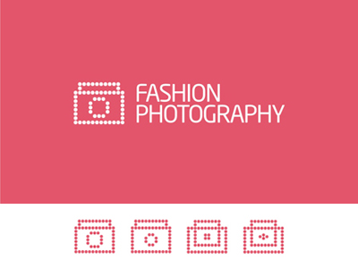 Fashion Photography camera bag purse logo design