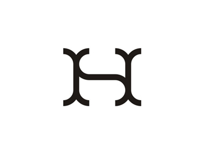 HS / SH monogram logo design symbol icon