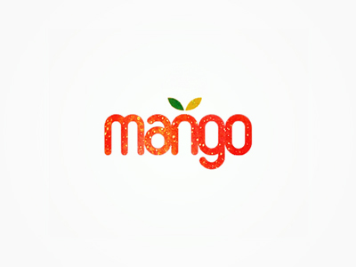 Mango fruits logo design