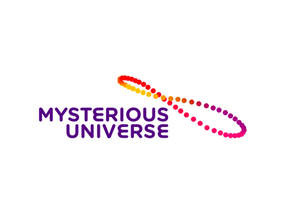 Misterious Universe space podcast solar analemma logo design