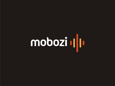 Mobozi mobile software development company it logo design