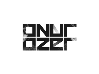 Onur Ozer edm electronic house music dj producer logo design