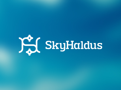 Sky Haldus internet online affiliate marketing logo design