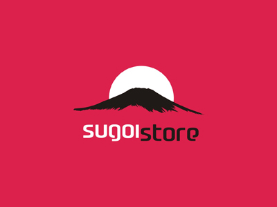 Sugoi Store high quality products japan logo design