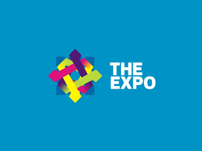 The Expo exposition logo design