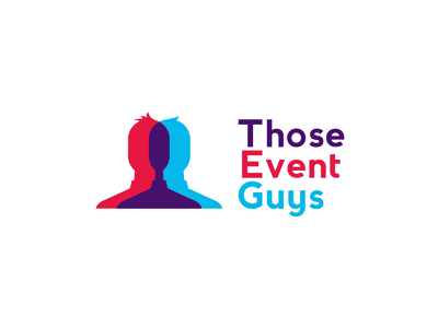 Those Event Guys parties events logo design