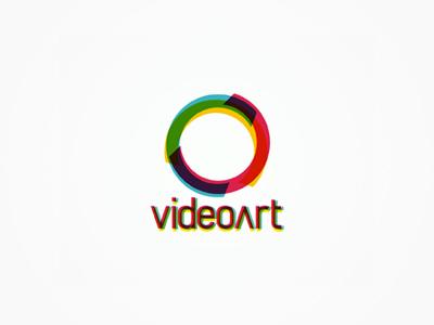 VideoArt rgb circle logo design