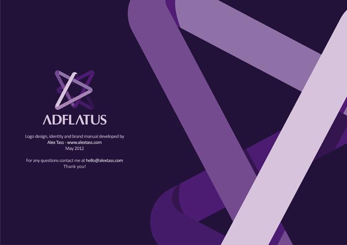 Adflatus brand manual developed by Alex Tass