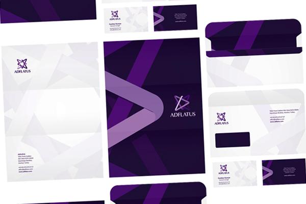 Stationery corporate identity design branding portfolio Alex Tass