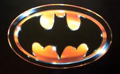 Batman 1989 logo design