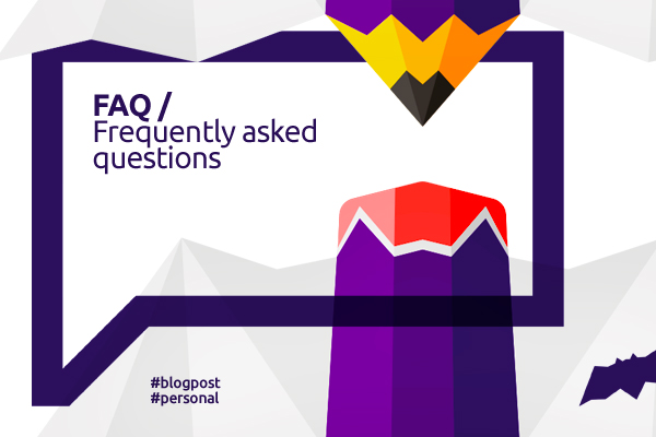 Blog post: FAQ / Frequently asked questions graphic logo designer Alex Tass