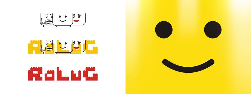 LEGO users group community logo design by alex tass