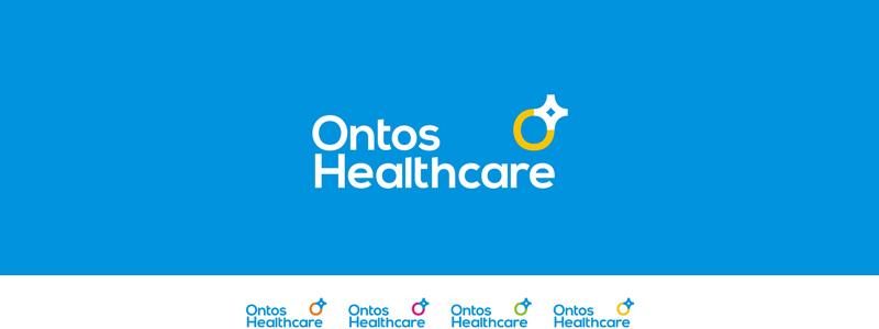 Ontos Healthcare logo design by alex tass