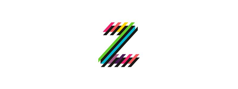 Z letter mark clubbing events logo design by alex tass